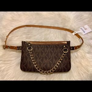 Michael Kors Fanny Pack | New | Size: M | Brown
